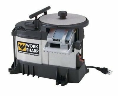 Work Sharp WS3000 Wood Tool Sharpener Knife Sharpeners, New