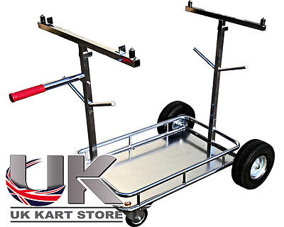 OTK Tony Kart Stil 4 Rad Go-Kart Wagen mit Regal UK Store