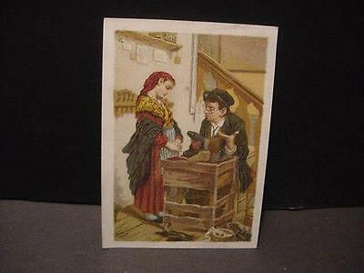Antique/Vintage Victorian Trade Card: Great Atlantic and Pacific (A+P) Cobbler