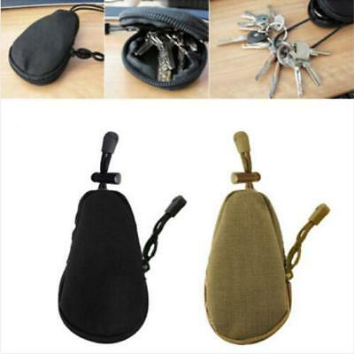 EDC Waterproof Key Bag Tactical Coins Pouch MP3 Keychain Holder Case Bag New LA