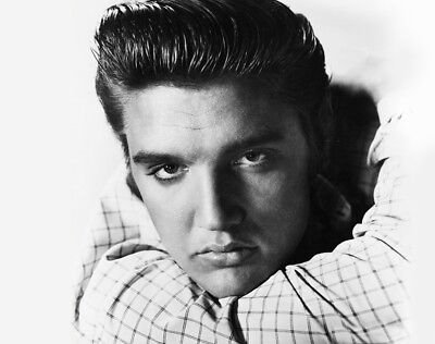 "ELVIS PRESLEY  Vintage Face close up CANVAS ART PRINT Poster 16""X 12"""