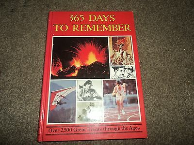 365 days to remember book