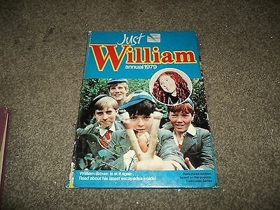 just william annual 1979 hard back
