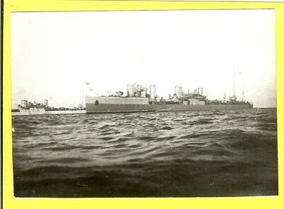 1915-1941 Russian Destroyer Desna Vintage Photo