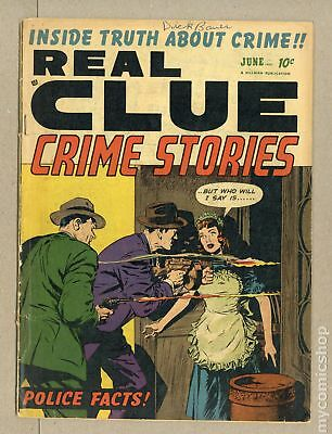 Real Clue Crime Stories Vol. 7 (1952) #4 GD- 1.8 LOW GRADE