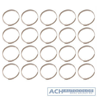 20 Piece Bandschellensatz 280 mm for Hoses and Axle Sleeves - BGS 8624