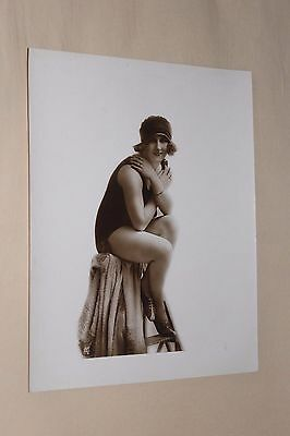 (B5/30) Photo A.N Paris Mode Baigneuse Planche salon Vire