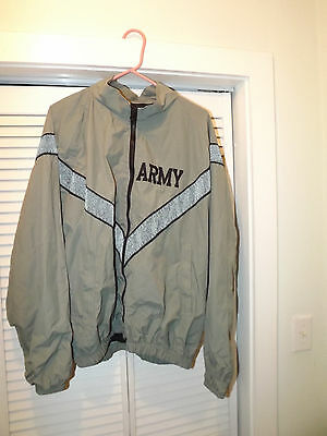 U.s. Army Pt Jacket Ipfu   Size  Medium / Long