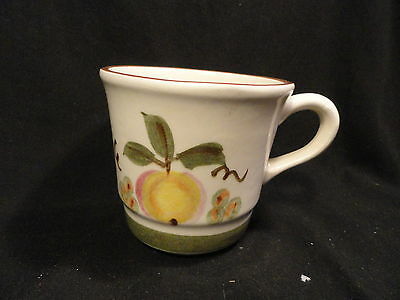 Stangl Pottery Apple Delight Coffee Cup Stackable
