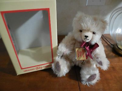Hermann Long Haired Mohair Bear. In orginial box. Purchased in Germany.1995 mint