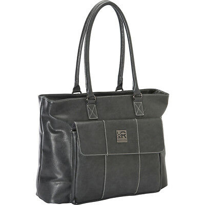 Kenneth Cole Reaction Let's Compare Laptop Totes - Grey Women's Business Bag NEW