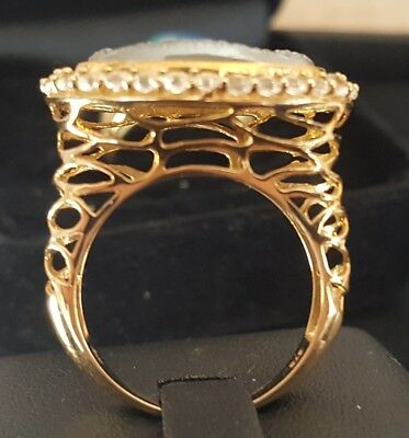 Damen Ring 375er Gold   5,95 gr.  Edel...