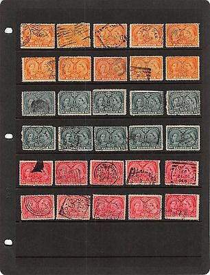 Lot of 30 Canada Scott # 51 52 53 Used NH Never Hinged 1c Jubilee Stamps #95267X