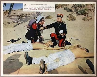 Phil Silvers Kenneth Williams Carry On In the Legion 1967 lobby card 884