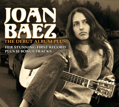 joan baez - the debut album plus! (CD NEU!) 823564619125