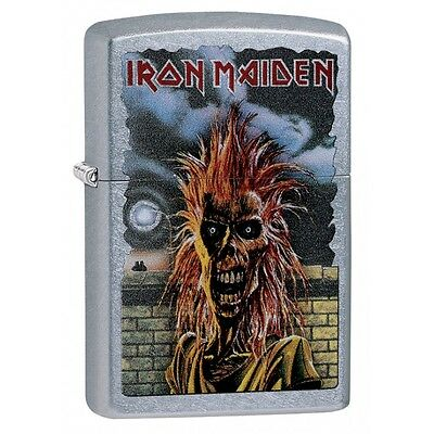 Zippo Lighter: Iron Maiden Debut Album Cover - Street Chrome 29433