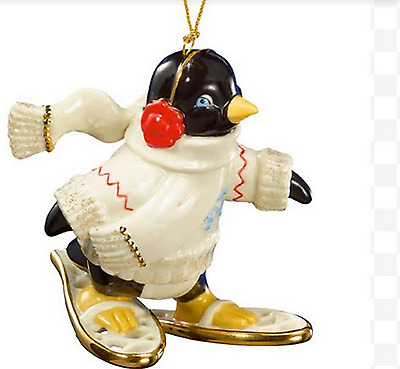 Lenox My Penguin Friend Ornament