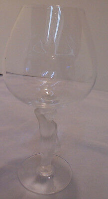 """Nude Brandy By Bayel, Satin Man Or Lady Grapes, 7.75"""" Tall 2"""" Across Top Vintage"""
