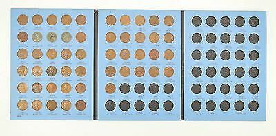 Complete 1941-58 Lincoln Wheat Cent Set - Includes 1943 Steel Cents! *068