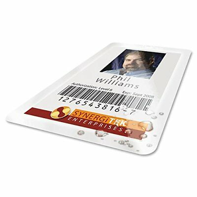 GBC HeatSeal UltraClear Thermal Laminating Pouches 7mm Badge ID Card Size 2-9/16