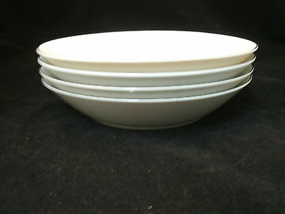 "International Silver WAKEFIELD Fine China Set of 4-7+"" Soup Cereal Bowls #364 EC"