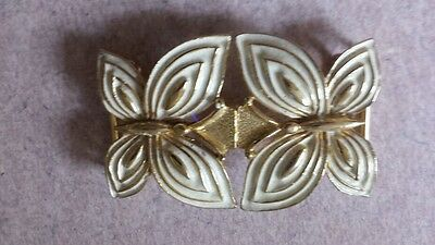 Vintage Large  Mimi di N Gold Butterfly Belt Buckle Jewelry 1975 Vintage Buckle