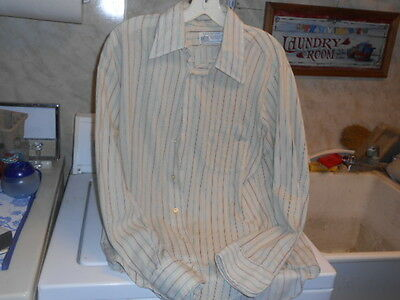 Vintage K Mart Brand Button Down Long Sleeve Dress Shirt