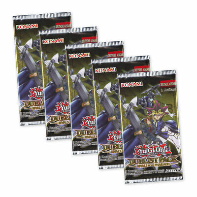 Yu-Gi-Oh! Duelist Pack Rivals of the Pharaoh 5 Booster Packs Deutsch 1. Auflage