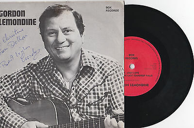Gordon Lemondine * Lost Loves * Signed 4 Track Ep Box Records 55 Ep Plays Great