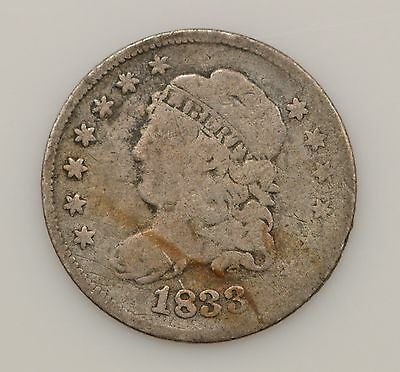 1833 Capped Bust Silver Half Dime *G01