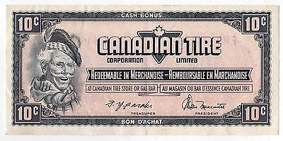 CANADIAN TIRE MONEY Bill NOTE Paper CANADA Merchandise CASH BONUS Gasoline STORE