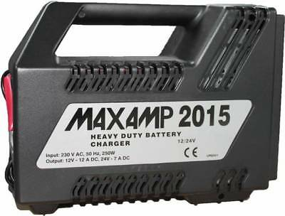 MAXAMP 2015 Heavy Duty Batterie Charger 12/24V 12/7A
