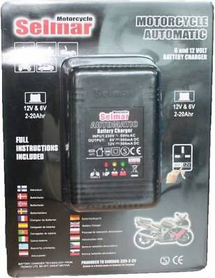 Selmar Moto Automatic Batterie Charger 6/12V 500mA