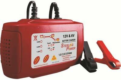 Sterling Power 12V 3A Portable Batterie Charger B123