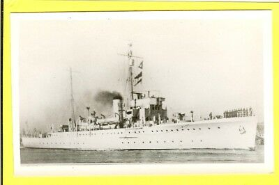 1932-40 British Sloop L48 HMS Dundee Vintage Photo