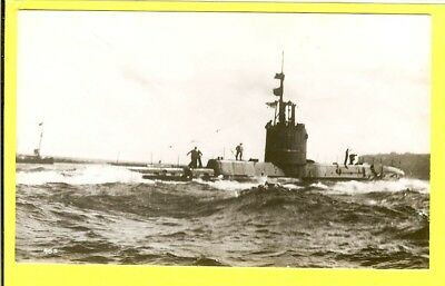 1931 British Submarine 61S HMS Swordfish - Real Photographs Co. Ltd Photo