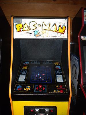 Pacman  Coin Operated Video Arcade Game Original & Working !!