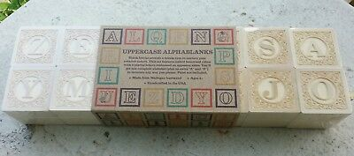 Uncle Goose Uppercase Alphablanks...UNOPENED Package of 14