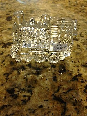New In Box Very Cute Fitz And Floyd Crystal Train With Free Shipping