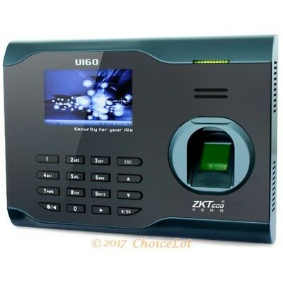Fingerprint And RFID Card Reader Time Clock With Tcp/ip+ Wifi Function Brand New