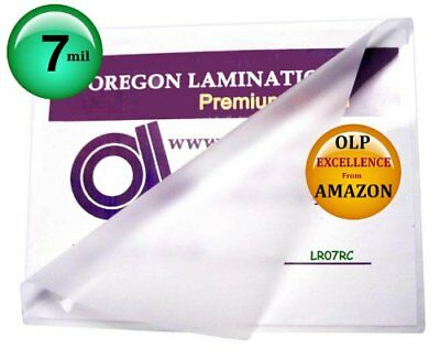 Letter Laminating Pouches 7 Mil 9 x 11-1/2 Hotqty 100, New