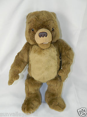 "1998 Kidpower Maurice Sendak 15"" TALKING LITTLE BEAR Vintag Plush Stuffed Animal"