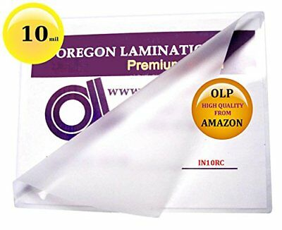 10 Mil 6 x 9 Hot Laminating Pouches Pack of 50 Clear, New