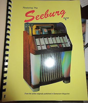 Seeburg C Restoration Service Manual. 64 Pages