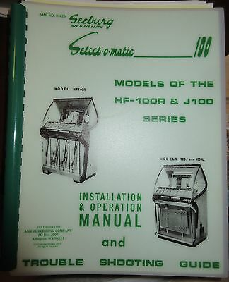 Seeburg Installation and Operation Manual Models HF-100R and J-100  69 Pages