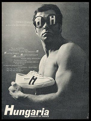 1966 Hungaria shoes photo vintage print ad