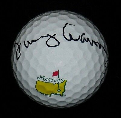 Tommy Aaron Autographed Masters Logo Golf Ball (Pga) W/ Proof!