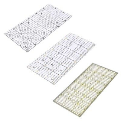 Quilting Sewing Patchwork Ruler Cutting Tool Tailor Craft Scale Transparent DIY