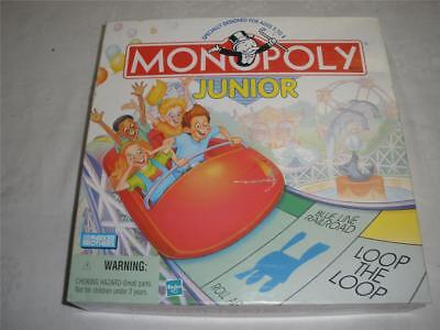 Monopoly Junior Loop The Loop  Board Game Parker Brothers 1999 Usa
