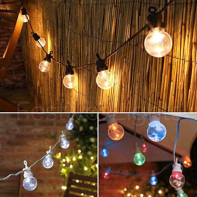 Connectable Outdoor Garden Christmas Party Festoon Globe Bulb Led String Lights